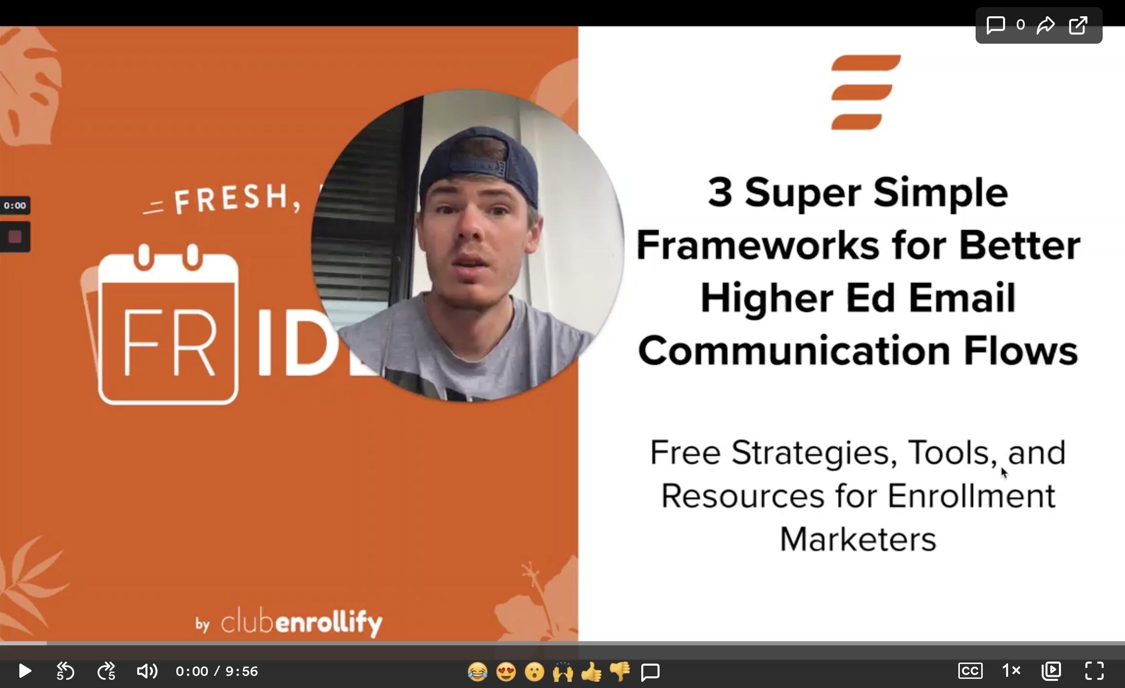 3 Frameworks for Higher Ed Email Communication Flows